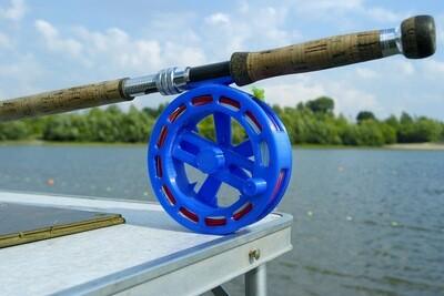 Spey 18 - Plastic reel fly fishing casting