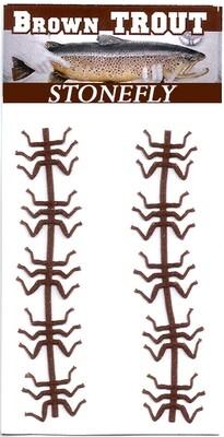 Brown Stonefly legs