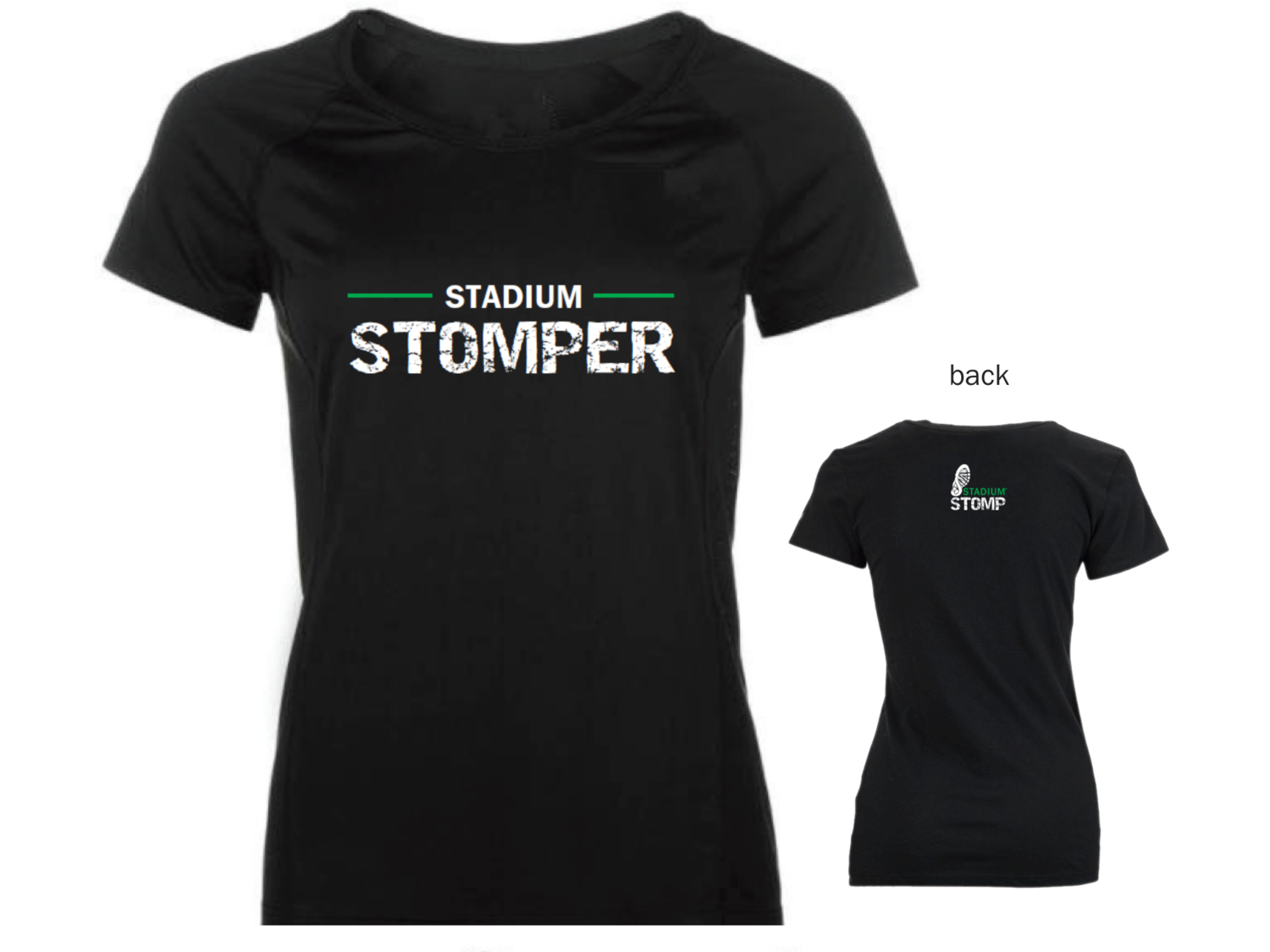 "X LARGE - Women's ""Stadium Stomper"" Tee"