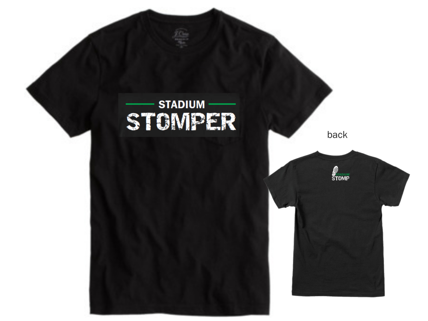 "X LARGE - Men's ""Stadium Stomper"" Tee"