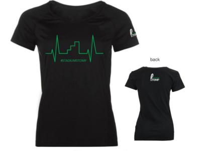 LARGE - Women's Heart Beat t-shirt