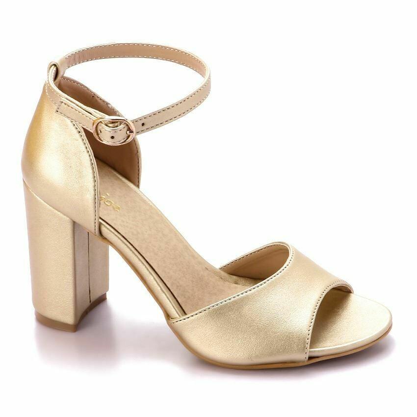 3344 Heels- Gold