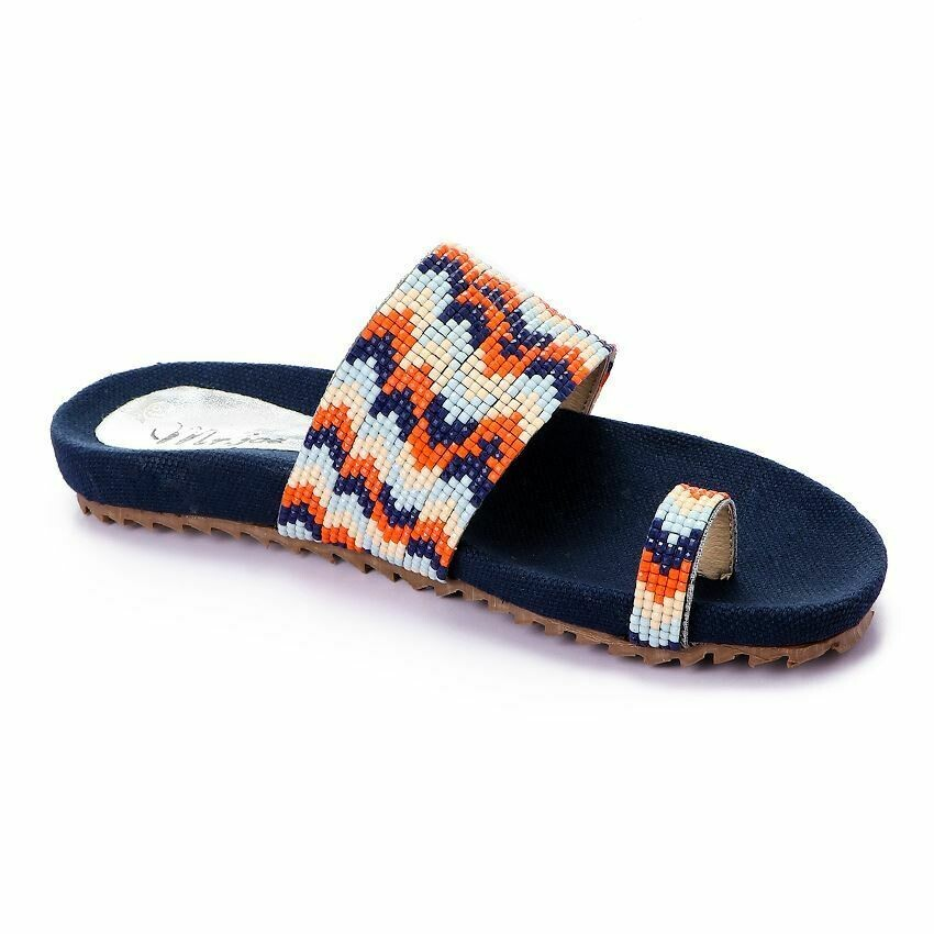 3383 Slipper - Orange