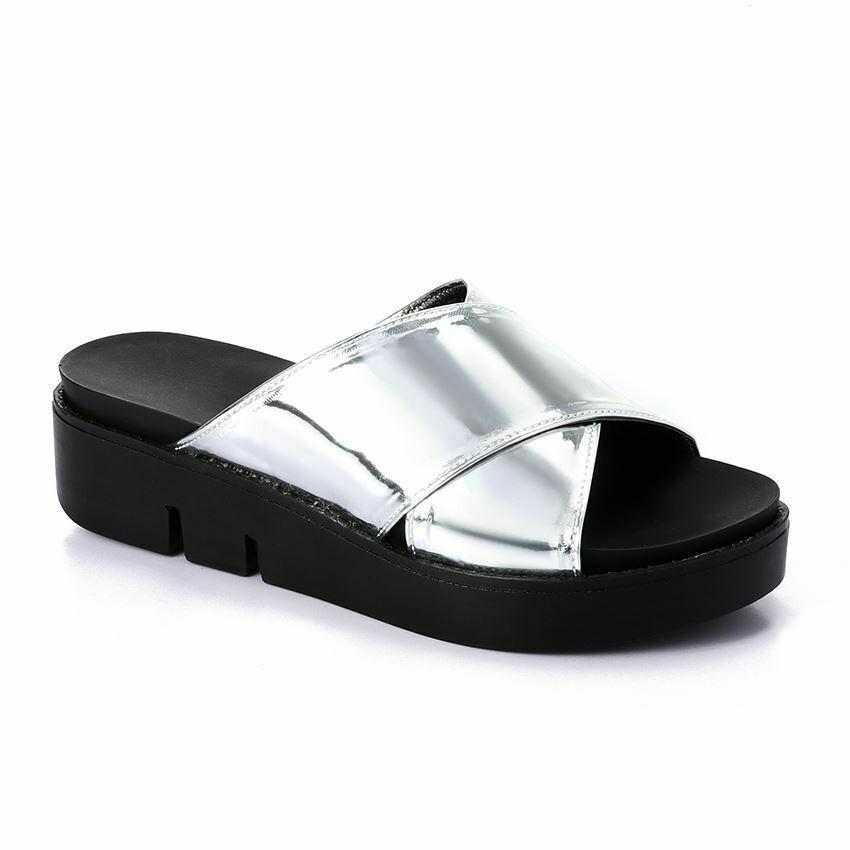 3301 Slipper - Silver
