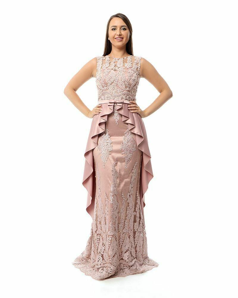 8429Soiree Dress - Cashmer