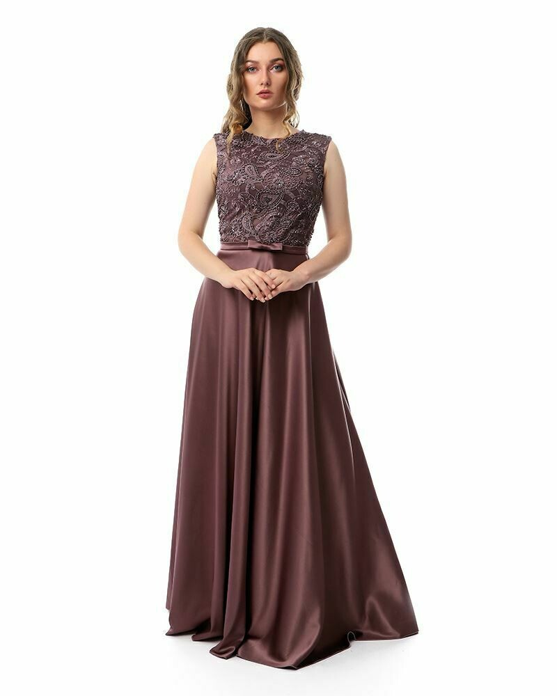 8437 Soiree Dress - Purple