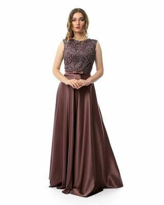 8437 Soiree Dress - Purple
