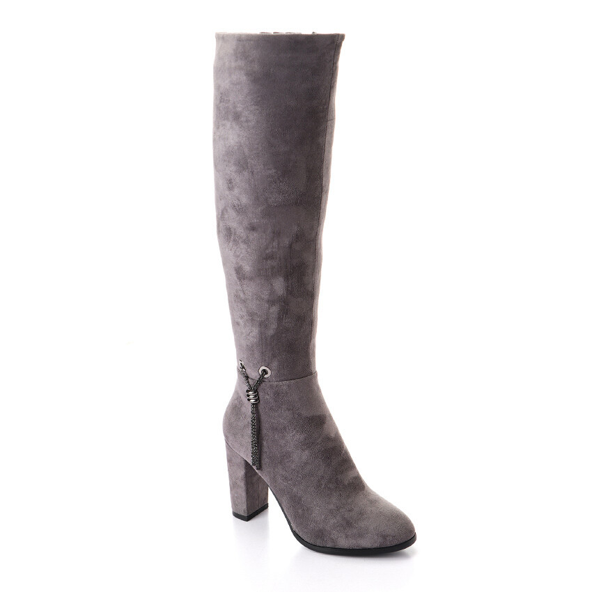 3299 -  High Boot - Gray