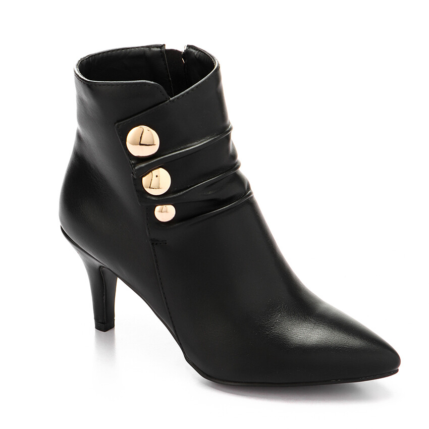 3292 Half Boot -Black