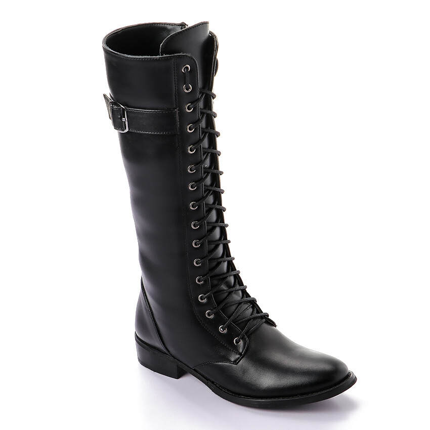 3326High Boot - Black