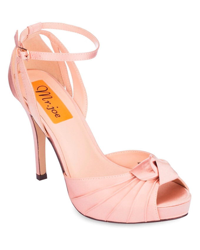 3710 Open Toe Heeled Sandals - Champagne