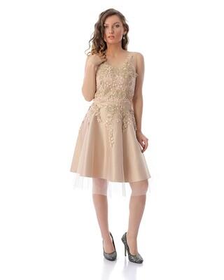 8410 Soiree Dress - cashmer