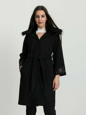 8208 Coat - Black