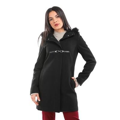 8198 Coat -Black