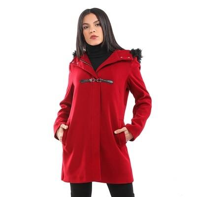 8198 Coat - Red