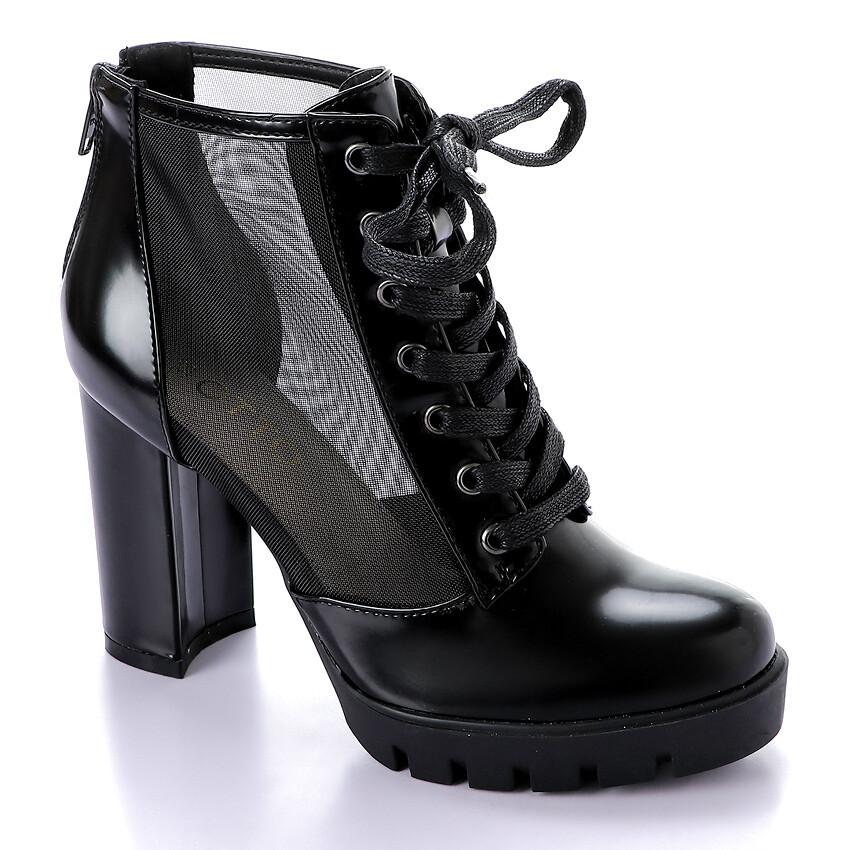 3285 Half Boot -Black