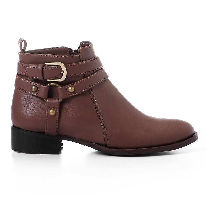 3426 Half Boot - Brown
