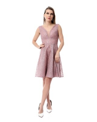 8484 Soiree Dress - cashmer