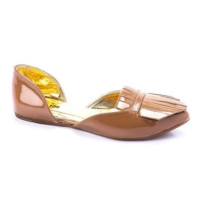 3262 Ballet Flat Shoes - Beige