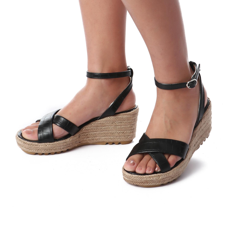 3442 Sandal - Black