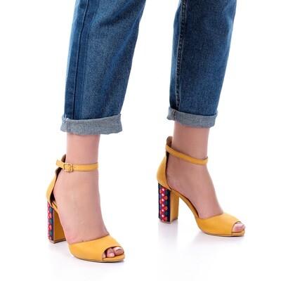 3387 Sandal - yellow