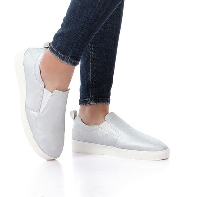 3393 Casual Sneakers - Silver