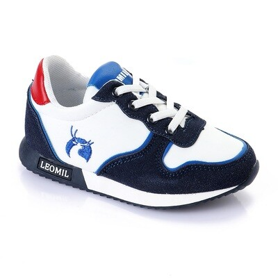 3446 Casual Shoes Kids - White*Navy