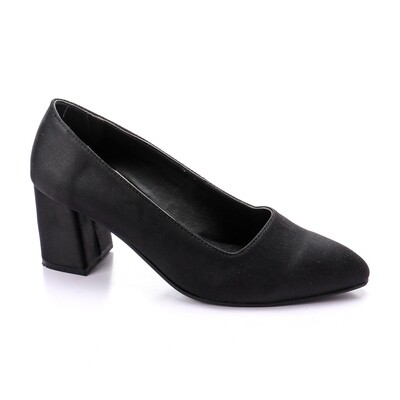 3391 Shoes - Black satan
