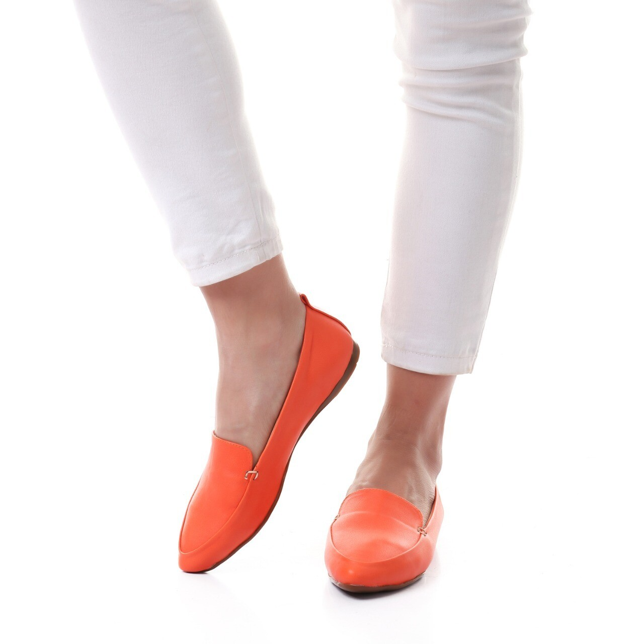 3464 Ballet Flat Shoes - orange