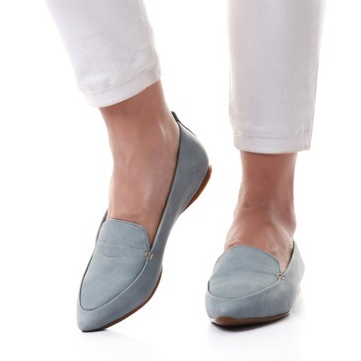 3464 Ballet Flat Shoes - baby blue
