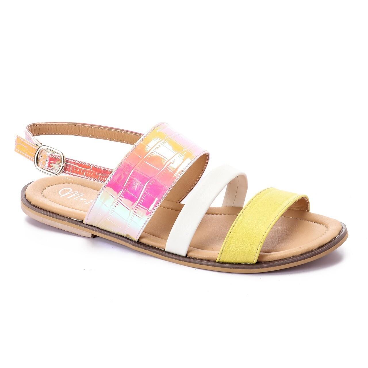 3468 Sandal - light yellow