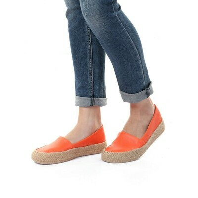 3365 Casual Sneakers - orange Leather