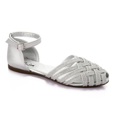 3469 Ballet Flat Shoes -silver
