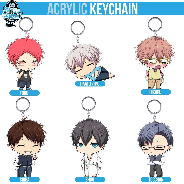 Chibi acrylic keychain