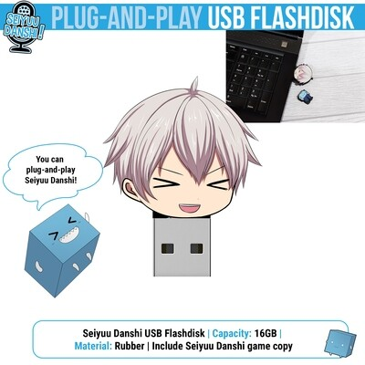 Seiyuu Danshi USB Flashdisk 16GB (Include game files)