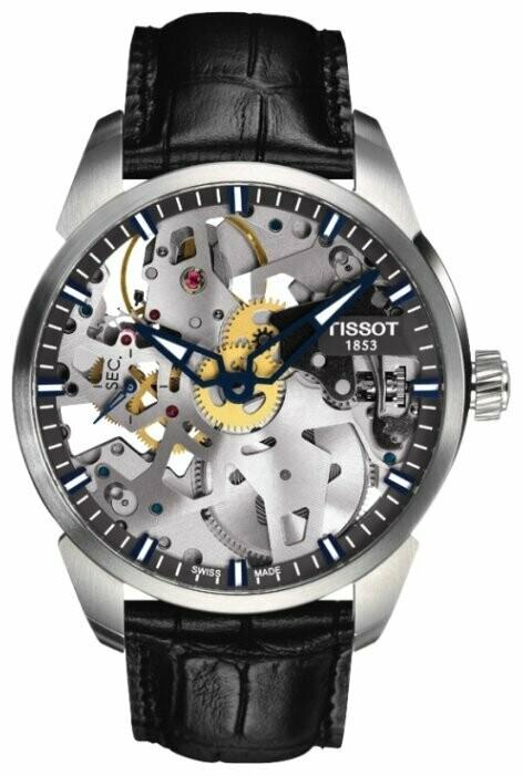 Наручные часы Tissot T-ClassicT-Complication Squelette  T070.405.16.411.00