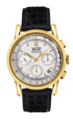 TISSOT HERITAGE 150TH ANNIVERSARY AUTOMATIC CHRONOGRAPH GOLD T71.3.439.31