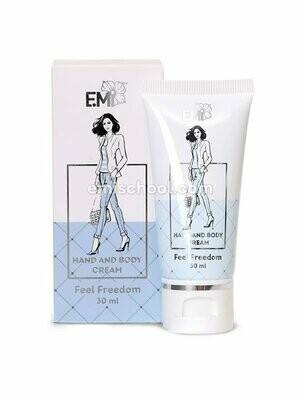 Hand and Body Cream Feel Freedom, 30 ml