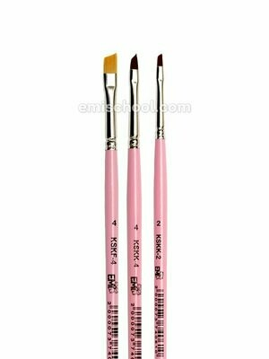 Set of brushes for One stroke painting