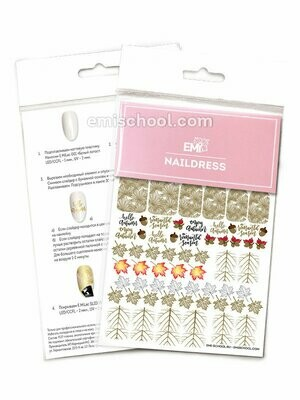 Naildress Slider Design #18 Autumn