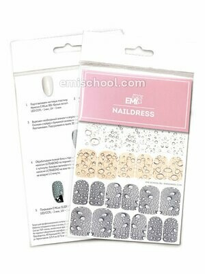 Naildress Slider Design #17 Drops