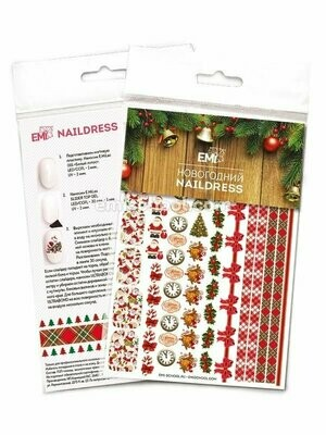 Naildress Slider Design Christmas #1
