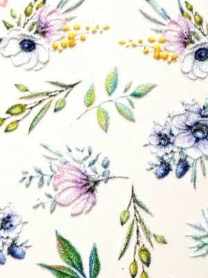 NAILCRUST 5D #17 Flowers