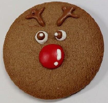 Christmas Cookie - Reindeer