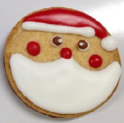 Christmas Cookie - Santa