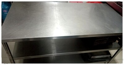 3-Tier Stainless Steel Table