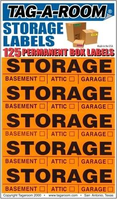 Storage Labels - 125 Count
