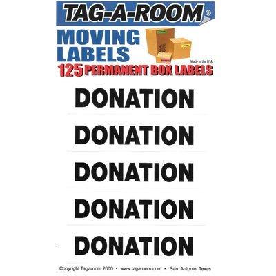 Donation Labels - 125 Count