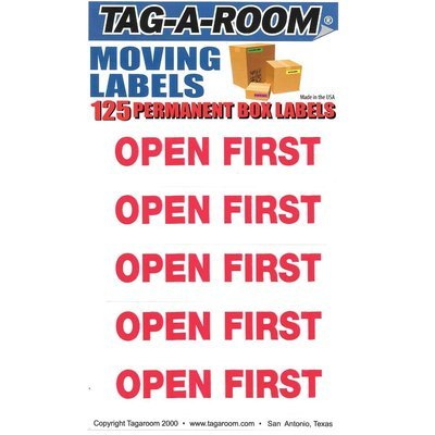 Open First Labels - 125 Count