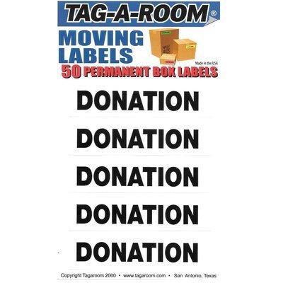 Donation Labels - 50 Count